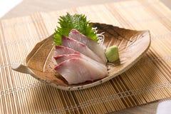 Sashimi de Kanpachi (séricole) Photos libres de droits