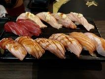 Sashimi de la comida de Japón delicioso fotografía de archivo libre de regalías