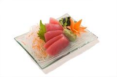 Sashimi de Maguro Imagen de archivo libre de regalías