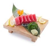 Sashimi de Maguro Imagenes de archivo