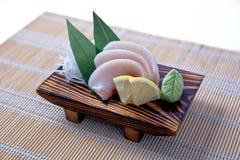 Sashimi de Mekajiki (espadarte) Imagem de Stock Royalty Free