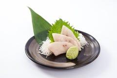 Sashimi de Mekajiki (espadarte) Imagem de Stock
