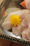 Sashimi de Otsukuri Foto de Stock Royalty Free