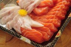 Sashimi de Otsukuri Foto de Stock