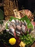 Sashimi de Pike del saurio Imagen de archivo