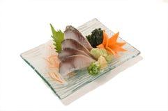 Sashimi de Shrime Saba Imagen de archivo libre de regalías
