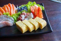 Sashimi de sushi Photographie stock