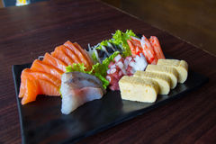 Sashimi de sushi Photo stock