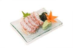 Sashimi de Tako Fotos de archivo libres de regalías