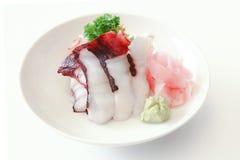 Sashimi de Tako Fotografia de Stock