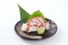 Sashimi de Tako (polvo) Foto de Stock