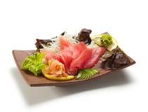 Sashimi de thon Photographie stock libre de droits