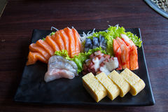 Sashimi dei sushi Fotografia Stock