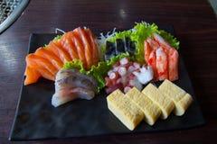 Sashimi dei sushi Fotografie Stock Libere da Diritti