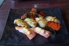 Sashimi dei sushi Immagini Stock