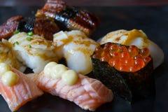 Sashimi dei sushi Immagine Stock