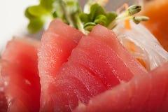 Sashimi del atún Fotos de archivo