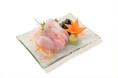 Sashimi del Tai Imágenes de archivo libres de regalías