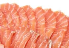 Sashimi di color salmone Fotografia Stock Libera da Diritti