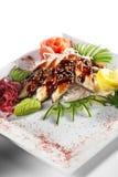 Sashimi di Unagi Fotografia Stock Libera da Diritti