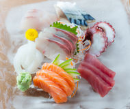 Sashimi dish Royalty Free Stock Images
