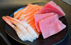 Sashimi dish. Sashimi on a dish, japanese food Stock Image