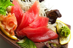 Sashimi do atum Foto de Stock