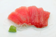 Sashimi do atum Imagens de Stock
