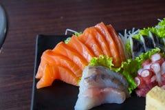 Sashimi do sushi Foto de Stock Royalty Free