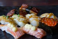 Sashimi do sushi Fotos de Stock Royalty Free