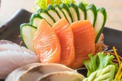Sashimi frais cru Photos libres de droits