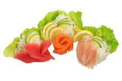 Sashimi fresco Fotografia Stock