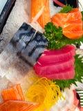 Sashimi fresco Fotografia de Stock