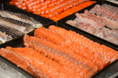 Sashimi,fresh fish japanese food in Thailand Royalty Free Stock Photography