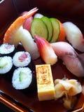 Sashimi. Fresh food from Okura hotel Bangkok Stock Photos
