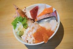Sashimi fresh sea food Royalty Free Stock Photography
