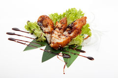 Sashimi fried perch Stock Images