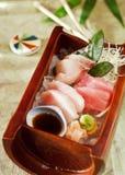 Sashimi giapponese Fotografia Stock Libera da Diritti