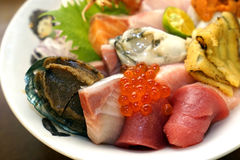 Sashimi giapponese immagine stock