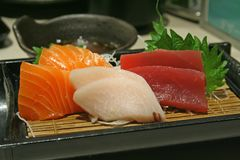 Sashimi goodness Royalty Free Stock Images