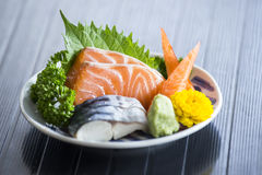 Sashimi Japanese food Stock Photo