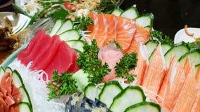 Sashimi. Japanese food stock photo