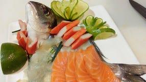 Sashimi Japanner Royalty-vrije Stock Afbeeldingen