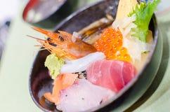 Sashimi japonés Foto de archivo