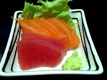 Sashimi japonês imagem de stock royalty free