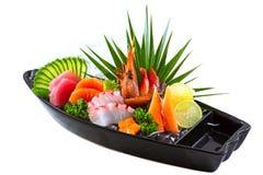 Sashimi japonais de sushi de nourriture Images stock