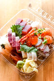 Sashimi Matsu. For Carry out stock image