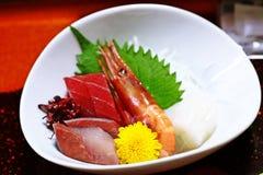 Sashimi mezclado imagen de archivo libre de regalías