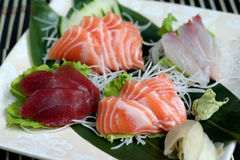 Sashimi mix Stock Images