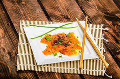 Sashimi new style Royalty Free Stock Photo